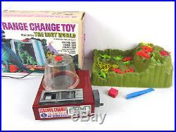 Vtg 1967 STRANGE CHANGE The Lost World Dinosaur Monster Figure Machine Mattel