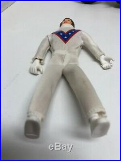 Vtg 1973 evel knievel stuntman ideal toy figure 70s