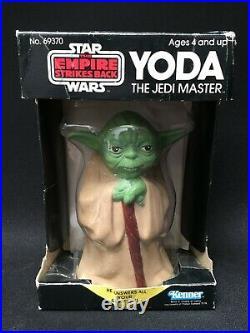 Vtg 1981 Star Wars Lucasfilms Yoda 8 Ball Fortune Teller Toy Jedi Figure Rare