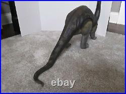Vtg 1989 Tyco Toys DINO RIDERS Brontosaurus Loose Long Figure