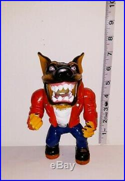 Vtg 1996 Street Wise Muscle Mutts Gutter Figure Toy Action Figure Street Sharks