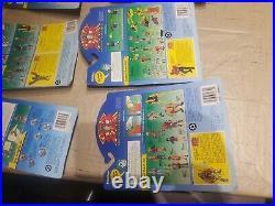 Vtg Lot Captain Planet planeteers argos verminous toy action figures Tiger 1991