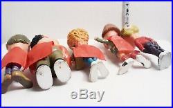Vtg Nerd Action Figure Gross Out Gang Skilcraft 1987 Ugly Monster Kids Toy Lot