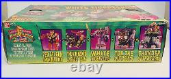 Vtg Power Rangers White Tigerzord Action Figure New Opened Box 90s Toy