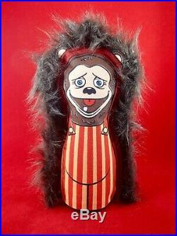 Vtg SHOWBIZ PIZZA Billy Bob knockdown game CARNIVAL PUNK DOLL figure toy plush