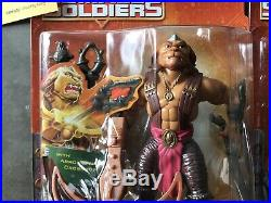 Vtg Small Soldiers Action Figure Toy Lot 100% Seller In Card USA X4