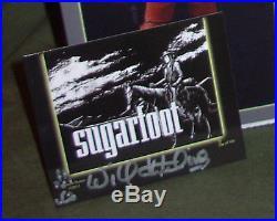 WILL HUTCHINS as SUGARFOOT 8 FIGURE LE #38 Hartland Western collectors