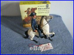 Wow! Rare 1950's Hartland Paladin Have Gun Will Travel Figure Richard Boone MIB