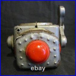 Yonezawa Wind-Up Space Explorer Tin Toy Robot Figure Silver Japan #3414