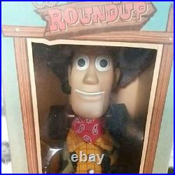 Young Epoch Toy Story Roundup Woody Figure Doll Vintage Rare