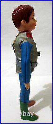 Zone Fighter Vintage 8 Yes/No Nodder Sofubi Figure Japan Nakajima 1973 Toho Toy